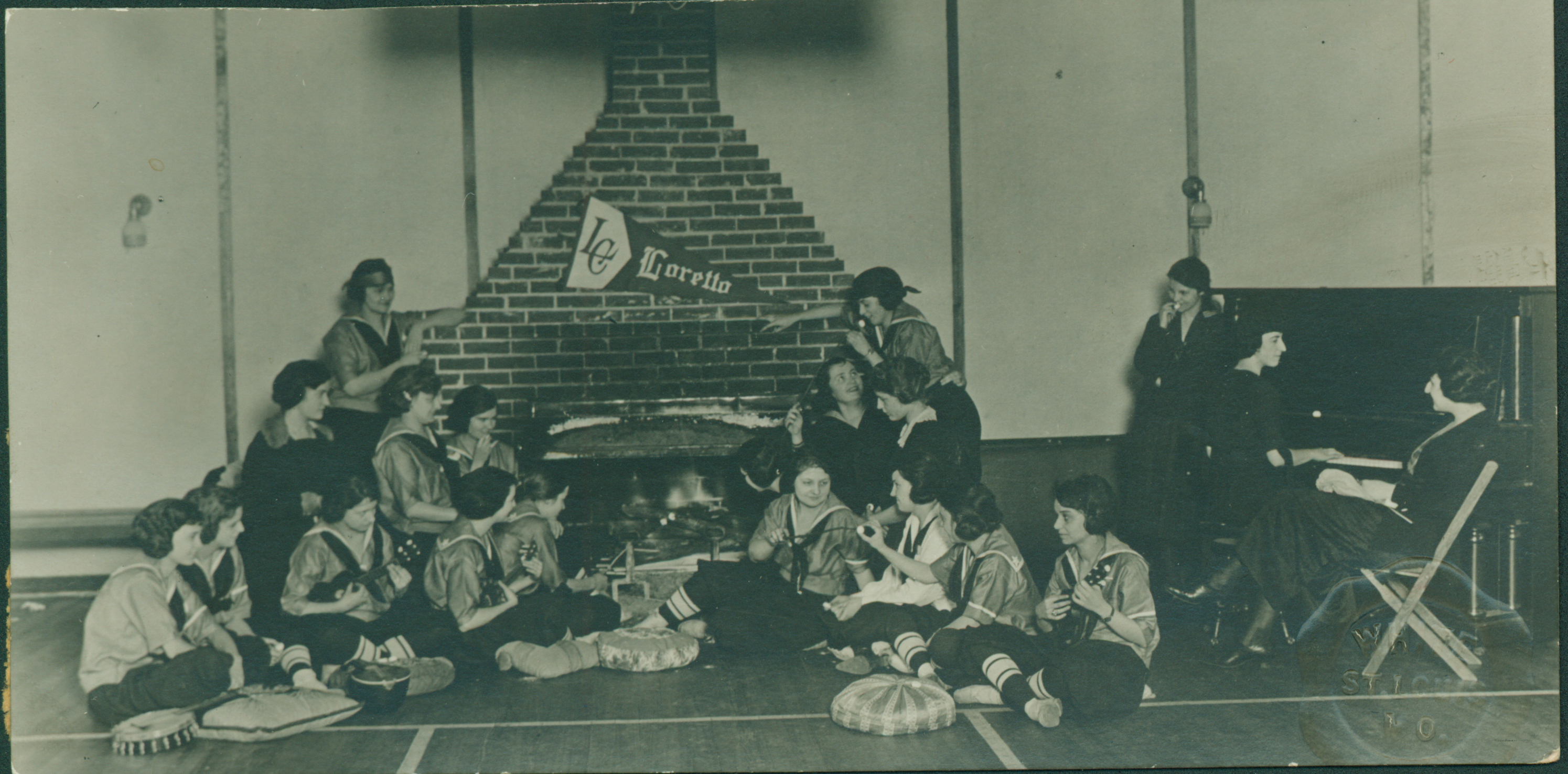 Fireplace, Idle Hour Gymnasium