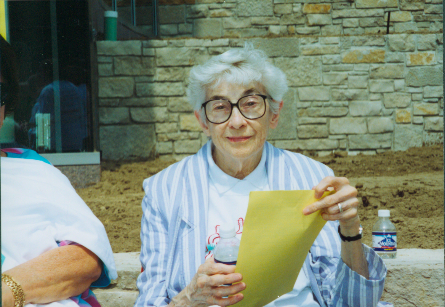 [Color photograph of Sr. Mary Mangan]